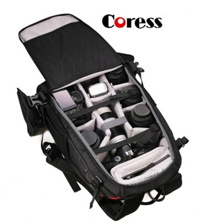 Coress C8010 Professional Anti theft font b Camera b font Photo Backpack 12 laptop Waterproof Video