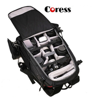 Coress C8010 Professional Anti theft Camera Photo Backpack 12' laptop Waterproof Video Bag Case For Canon Nikon Digital SLR/DSLR
