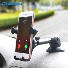 Cobao приборной панели телефона Автомобильный держатель лобового стекла Стенд Гибкая стол 360 градусов смартфон Автомобильный держатель для iPhone 7 6 5 samsung