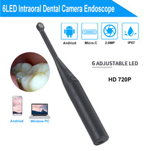 2MP HD USB Intra Oral Dental Intraoral Camera Dentist Device LED Light Real-time Video Inspection Teeth Whitening Tool wifi dental intraoral camera hd 720p oral dental endoscope led light monitoring inspection for dentist oral real time video dent