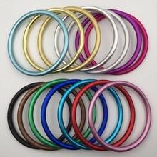 Большие Алюминиевые кольца, предназначенные для переноски детских слингов, Сделайте свой собственный кольцевой слинг