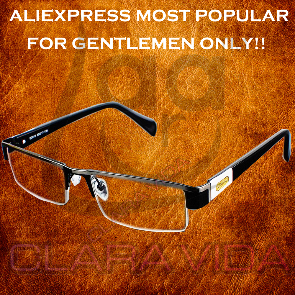 =CLARA VIDA BRAND=MEN Titanium alloy Non spherical 12 Layer Coated lenses reading glasses+1.0 +1.5 +2.0 +2.5 +3.0 +3.5+4.0