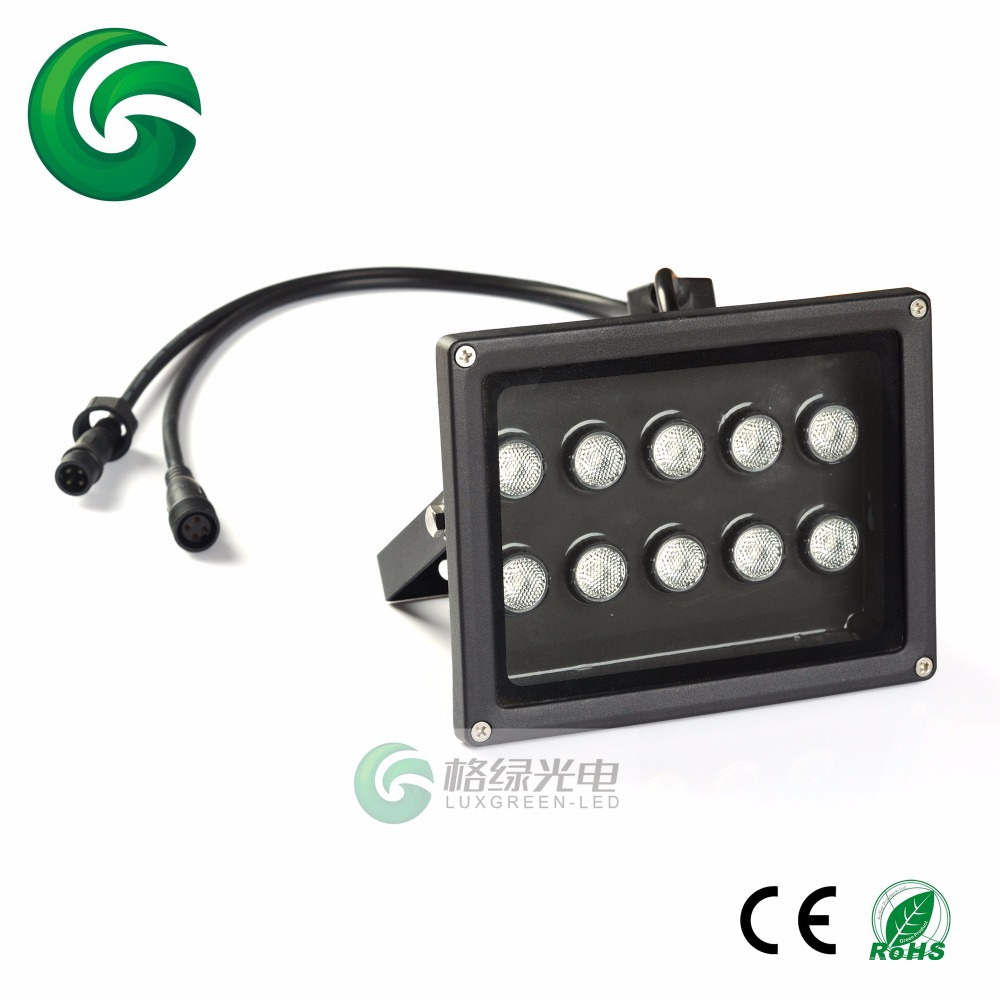 Guarranted 100% DHL free shipping 24vDC 10x3W 3in1 RGB new design 3 years warranty good quality LED Floodlight  free shipping in stock 100%new and original 3 years warranty j9100b sfp bidi 20km lc