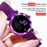 Hi18 Smart Watch Continuous Heart Rate Detection IP67 Waterproof Female Physiology Reminder Tracker Wristband Smart Bracelet