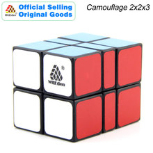 WitEden Camouflage 2x2x3 Magic Cube v1 223 Cubo Magico Professional Speed Neo Puzzle Kostka Antistress Fidget Toys For Boy