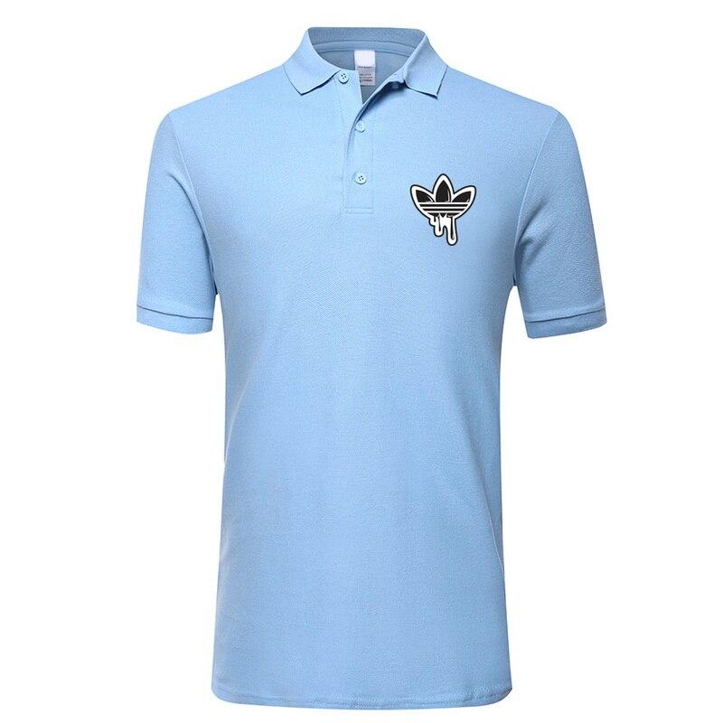 2018 Men'S Polo Shirt For Men Desiger Polos Men Cotton Short Sleeve Shirt Clothes Jerseys Golftennis Euro Size XS S M XL XXL