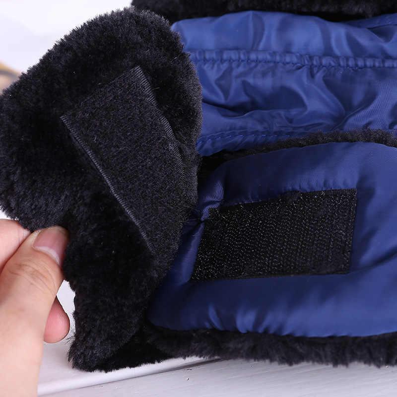 סקי ליקוק צעיף כובע החורף חם שלג סקי רכיבה על אופניים סנובורד Windproof גברים נשים לעבות אוזן הגנת צעיף + כובע מסכה