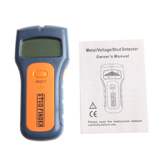 Wood Metal Wall Detector Multimeter Digital Pinpointer Vibrator Multi Stud Scanner Live Wire Cable Finder AC Hot 3 in 1 New 2017