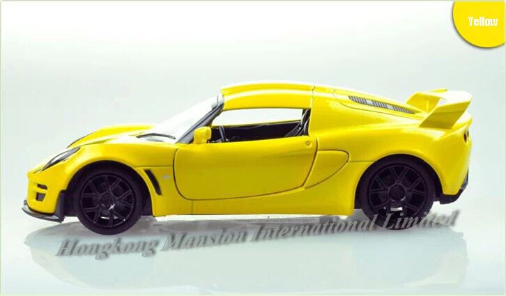 32 scale alloy metal diecast car model for lotus exige scura