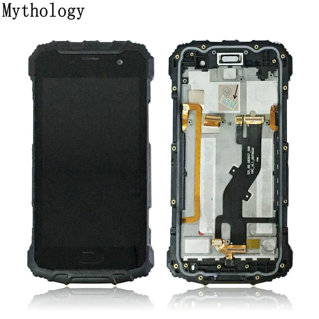 hot sales 9ebdc 506c0 US $57.99 |Mythology Touch Panel LCD For Ulefone Armor 2 Waterproof IP68  Smartphone 5.0 Inch Touch Screen Display With Frame Microphone-in Mobile ...