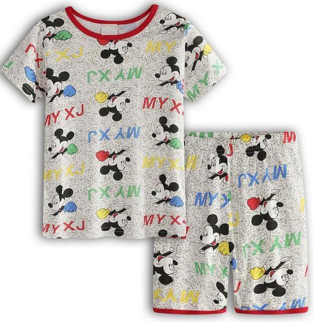 1ea352aa2 2018 Summer Kids Pajamas Sets Baby Boys Gilrs Sleepwear Short Sleeve ...