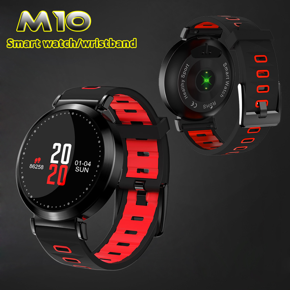 Joinrun M10 Smart Band Wristband Fitness Tracker Blood Pressure watch Sport Bracelet Heart Rate Monitor Color Screen Smart Band