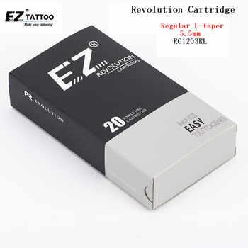 EZ Revolution Cartridge Tattoo Needles #12 0.35mm Round Liner RC1201RL RC1203RL RC1205RL RC1207RL RC1209RL 11/14/18RL 20 pcs/lot - DISCOUNT ITEM  15% OFF All Category