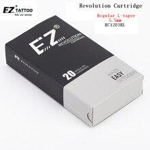 EZ révolution cartouche aiguilles de tatouage #12 0.35mm revêtement rond RC1201RL RC1203RL RC1205RL RC1207RL RC1209RL 11/14/18RL 20 pcs/lot