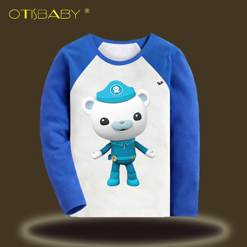 Captain Barnacles Long Sleeve T Shirts for Boys and Girls The ...