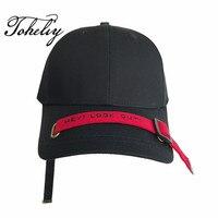 2018 nouveau style design Original Longue bretelles broderie personnalité loisirs hommes femmes baseball chapeau Hip-Hop