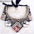 Crystal Statement Necklace 2016 Big Necklaces&pendants Choker Necklace Collar Women  Accessories Collier Femme Bijoux Sautoir
