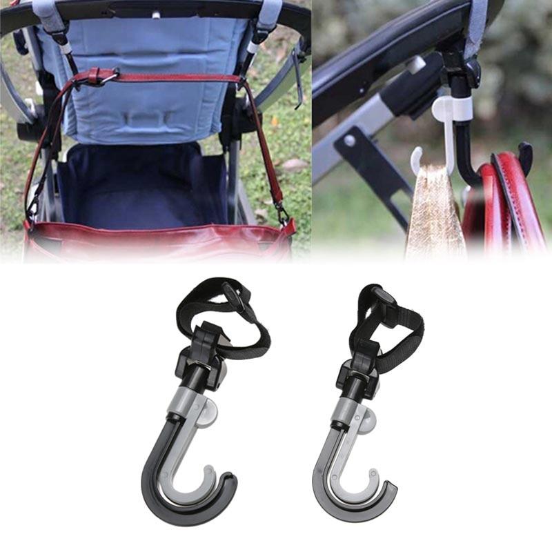 2 Teile/satz Baby Kinderwagen Haken Abs Kunststoff Tragbare Pram Lagerung Tasche Haken Aufhänger Warenkorb Rollstuhl Hängen Haken Kinderwagen Zubehör