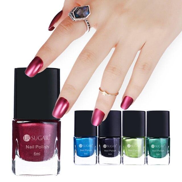 Tienda Online Ur azúcar 6 ml efecto espejo Esmaltes laca de uñas ...