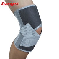 KuangMi Sports Elastic Knee Silicon Breathable Kneepads Basketball Hiking Tennis Knee Brace Pad Guard Protector Kneepads
