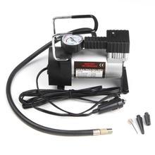Автомобильный компрессор 12V 150psi тяжелых Делюкс Портативный Металлический Воздушный компрессор автомобильный насос для накачки шин авто топливный насос с 3 адаптера переменного тока Наборы
