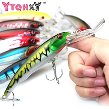 16.5cm 29g Minnow Fishing Lures  Japan Deep swim Saltwater Hard Bait Artificial Wobbler Fish Swim Bait Diving 3D Eyes YE-255