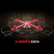 Original MJX X102H X – SERIES 2.4GHz 4CH RC Quadcopter RTF Air Press Altitude Hold LED Light Drone