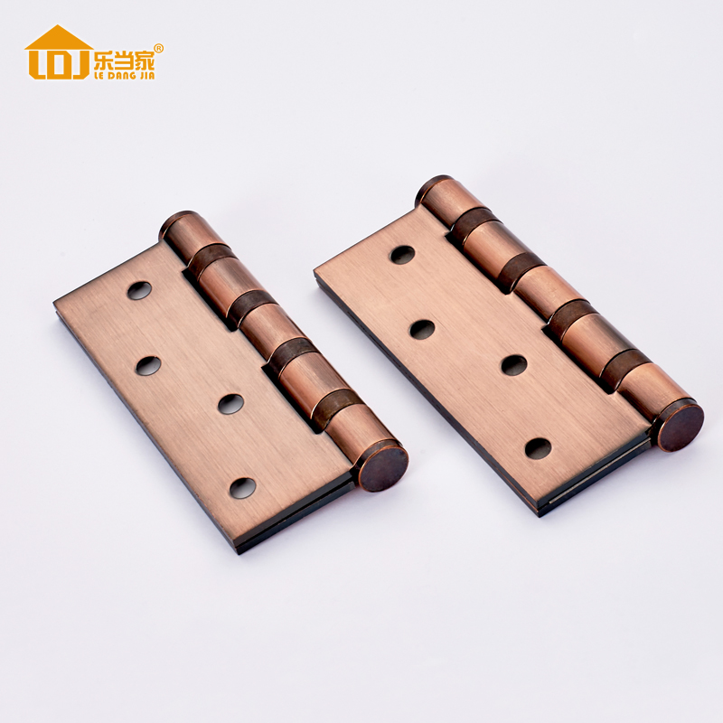 2pcs 4Inch Stainless Steel Door Hinge Bearing Flat Open Loose Thickened Fold gate Living room wood door No rust Hinges 2pcs set stainless steel 90 degree self closing cabinet closet door hinges home roomfurniture hardware accessories supply