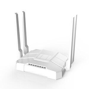 Image 4 - Le routeur wifi openwrt double bande MT7621 gigabit routeur sans fil openvpn OpenWrt 802.11AC 1200Mbps 2.4G 5G solution sans fil MTK