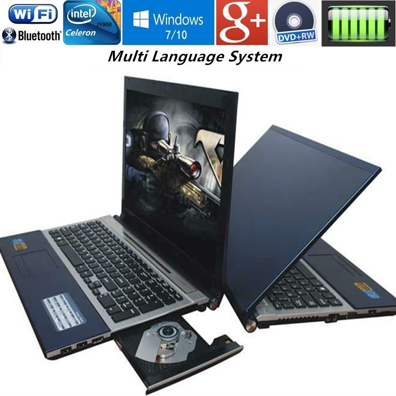 8GB RAM & 128G U Drive+1000G HDD 15.6 Intel Pentium N3520 Quad core game laptop Windows 7/10 notebook computer with HDMI DVD-RW huangshan 1000g page 7