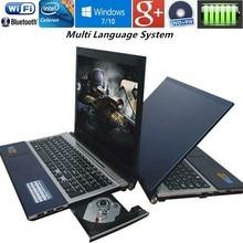 8GB RAM 128G U Drive 1000G HDD 15 6 Intel Pentium N3520 Quad core game laptop