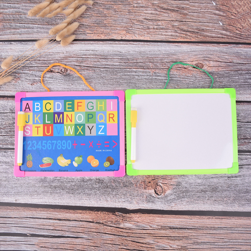 New Writing Tablet Kids Whiteboard Dry Wipe Board Mini Drawing Small Hanging Board With Marker Pen
