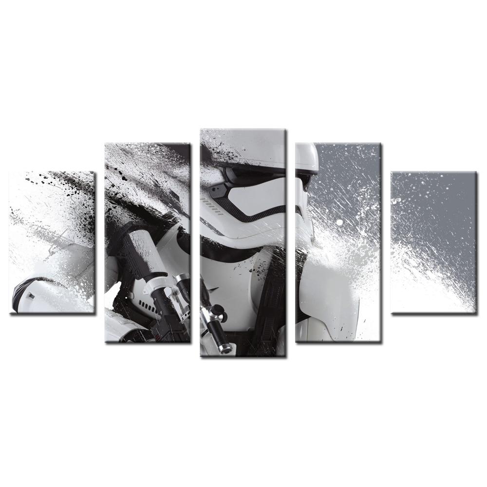 star wars toile promotion achetez des star wars toile. Black Bedroom Furniture Sets. Home Design Ideas