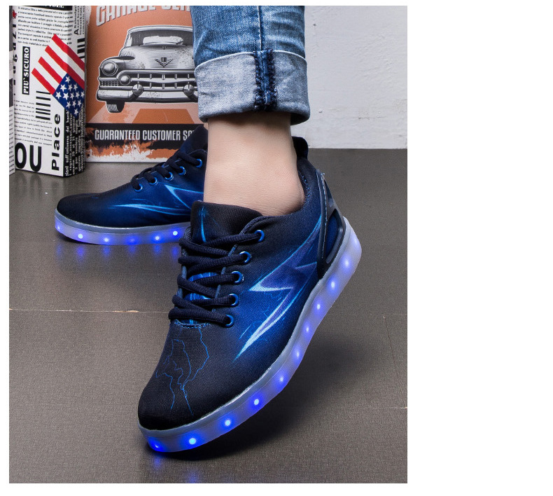 Led Sneakers Lightning 17