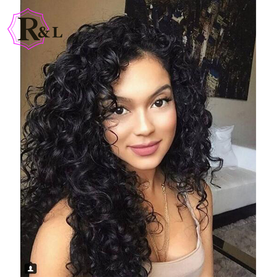 250% Density Lace Front Human Hair Wigs For Women Natural Black Curly Human Hair Wig Brazilian Remy Lace Front Wig Riya Hair Human Hair Lace Wigs Hair Extensions & Wigs