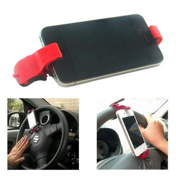 Mobile Phone Holder Steering Wheel Mobile Phone Holder Car Mobile Phone Holder Tractable Adjustable Mobile Phone Holder steering wheel phone holder
