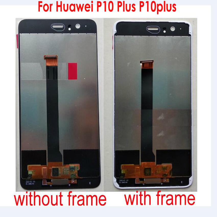 Original LCD Display Touch Screen Digitizer Assembly Sensor With Fingerprint +Frame For Huawei P10 Plus P10plus VKY-L09 VKY-L29Original LCD Display Touch Screen Digitizer Assembly Sensor With Fingerprint +Frame For Huawei P10 Plus P10plus VKY-L09 VKY-L29