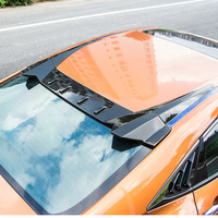 Type R Style ABS Plastic Rear Trunk Wing Decoration Use For Honda Civic Roof Spoiler 2016 2017