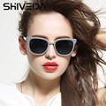 SHIVEDA Classic Lunette Sunglasses For Women Retro Oval Glasses Outfits Suitable Fashion Sun Glasses Ladies Vintage Eyewear 1441