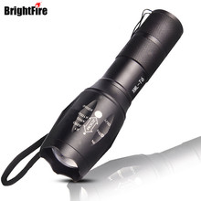 High Power CREE XML-T6 5 Modes 3800 Lumens LED Flashlight Waterproof Zoomable Torch lights