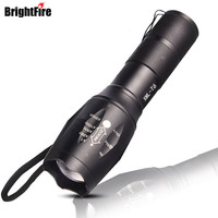 5 Modes 2300 Lumens Lanterna Torch Light Mini LED Flashlight Zoomable Penlight Lantern With Charger 18650