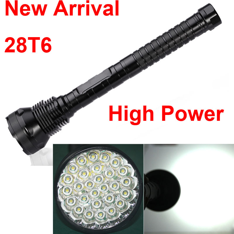 28 x XML T6 28T6 LED 45000 lumens High power 5Modes Glare flashlight Torch Working lamp tactical light camp lantern 18650 26650 new 2016 practical 3000 lumens high power led torch cree t6 led flashlight zoomable torch light camp 5 modes tactical flashlight