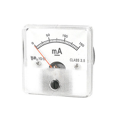 Class 2.5 Analog Current Panel Meter Ammeter DC 0 150mA on