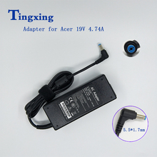 90W 19V 4.74A laptop ac power charger adapter PA-1900-04AC for Acer Aspire 7750 7750G 7750Z 7750ZG 7751 7752 7920 7240 7740Z стоимость