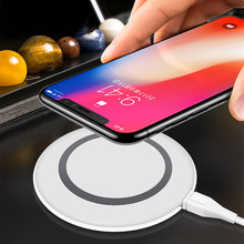 Wireless Charger for iPhone XS MAX/XR/X/8/8 Plus, 10W Fast charging Pad for Galaxy S9 S8 Plus Note 8 Qi Wireless Phone Charger