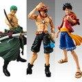 Anime One Piece Zoro figura PVC 18 CM de uma peça figuras de ação SHF s.H Figuarts Anime brinquedos Roronoa Zoro brinquedos modelo luffy ace