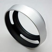 48 мм серебристая металлическая наклонная вентилируемая бленда QL17 GIII R35 F2 F2.8 R50 R28 E48
