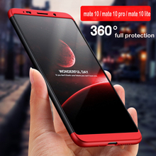 WeeYRN 360 Full Hard Cover For Huawei Mate 10 Pro Mate 10 lite Funda Phone Case Luxury Plastic Cover For Huawei Mate 10 Pro lite