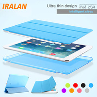 Ultra Thin PU Leather Slim Magnetic Folding Front Smart Cover Skin Hard PC Shell Back Case