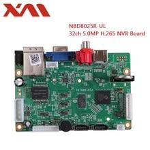 Интеллектуальный анализатор NVR, видеорегистратор 32 канала * 5 МП, H.265/H.264, сетевая цифровая видеозапись с SATA линейной IP камерой, ONVIF, XM, CMS, XMEYE, CCTV